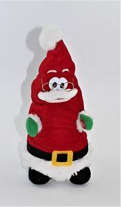 Il Cappello di Babbo Natale che canta, balla e ride in Tessuto Addobbo Natalizio
