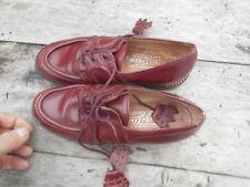 ULTRA RARES chaussures GAZELLA HAUT DE GAMME T 37,5 MARRON BORDEAUX ? A 56€ ACH