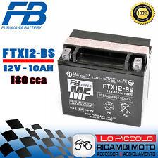 Batería Furukawa YTX12-BS AGM Mf Piaggio Beverly Es Decir, ABS E4 300 2018