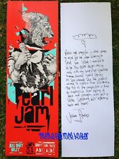 Joram Roukes Pearl Jam Poster 1/31/14 Big Day Out Adelaide, Auckland, Australia