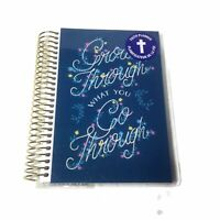"Recollections Faith Spiral Planner Mini Undated 5.12""x7.13"" Grow Through What"