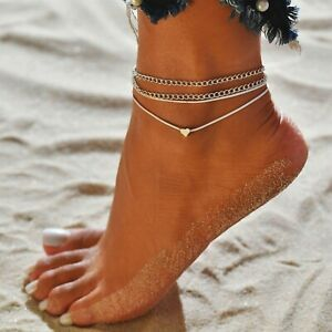 New Women's Foot Anklet Chain Jeweler Summer Beach Accessories
