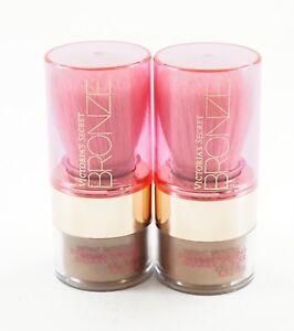 NEW Victoria's Secret BRONZE Lot of 2 Instant Bronzing Shimmer Powder .15oz