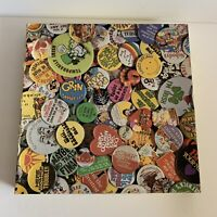 """Hoyle Products Fun Buttons Jigsaw Puzzle Casse-Tete 550 Piece 18"""" x 24"""" FUN"""