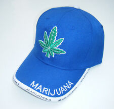 MARIJUANA LEAF LOGO Snoop Dog Pot Weed Adjustable Structured Baseball Hat NWT