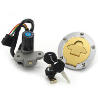 Ignition Switch Fuel Gas Cap Helmet Lock for Ducati Monster 996R M600 996SPS ST2