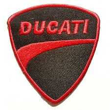 Ducati Vintage Motorcycle Embroidered Iron-On Sew-On Patch NEW