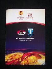 Orig.PRG   Europa League   2011/12   AZ ALKMAAR - MALMÖ FF  !!  SELTEN