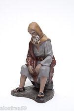 Figura Belen J.L. Mayo (11 cms) - Pastor al fuego BEL066