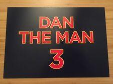 DANIEL RICCIARDO F1 RED BULL DAN THE MAN 3 AUSTRALIAN GRAND PRIX SPONSOR CARD
