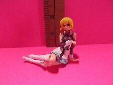 """Gundam Seed Destiny Stellar Loussier 2""""in Figure Sitting on Ground Short Skirt"""