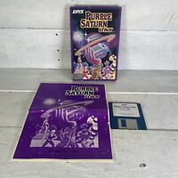Epyx Purple Saturn Day Vintage Commodore Amiga Video Game