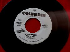 CHAMPAIGN~ TRY AGAIN~ HOW BOUT US~ UNPLAYED STORE STOCK ~ SOUL 45