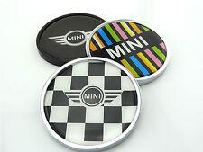 Grill Frontgrill Metal Emblem Badge Logo Auto For BMW MINI Cooper JCW 2pcs