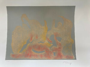 MARK TOBEY Pencil Signed AWAKENING DAWN Numbered COLOR ETCHING Seattle NW MYSTIC