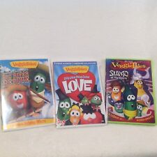 VeggieTales DVD Silly Little Thing Called Love, Sumo Of Opera, Big River Rescue
