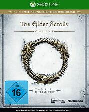 XBOX ONE - GAME . The Elder Scrolls Online: Tamriel Unlimited  ++neu und ovp+
