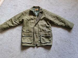 Men's Tweed Shooting Hunting Jacket Coat Size M