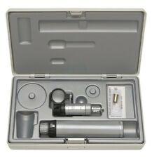 Heine HSL 150 hand-held slit Lamp Set with beta Battery handle in custodia rigida