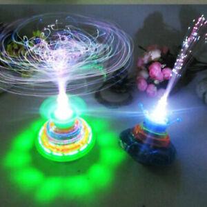 Fun Top Gyro Spinner LED Music Light Kids Children Xmas Toy Hot!!!