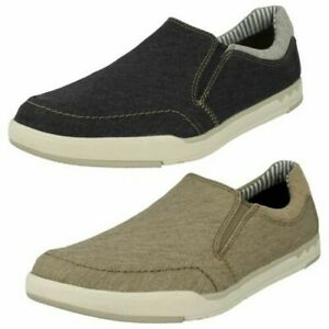 Clarks Mens Casual Slip On Shoes - Step Isle Slip