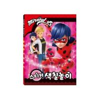 Miraculous Ladybug Activity Play Coloring Book Sticker For Kid Toy Character