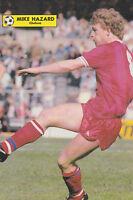 Football Photo MIKE HAZARD Chelsea 1985-86