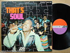 THAT'S SOUL  Atlantic SMLP 008  1967 german plum red label first press + booklet