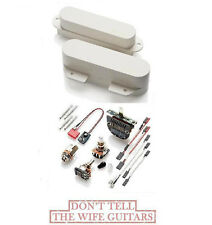 EMG TX SET WHITE TELECASTER PICKUPS FTX RTX ( FREE WORLDWIDE SHIPPING ) FENDER
