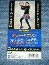 "DEBBIE GIBSON Japan Only 1988 Un-Opened MINT Tall 3"" CD  WE COULD BE TOGETHER"