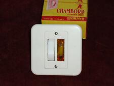 Interrupteur double allumage modèle Chambord Legrand neuf