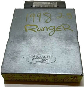 1998 Ford Ranger / B2500 2.5L ECM ECU Engine Computer Module | F87F-12A650-VC