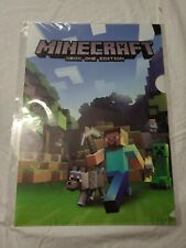 Minecraft Xbox One Plastic Folder
