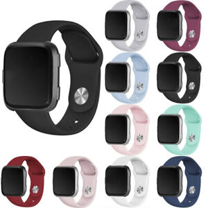 For Fitbit Versa/Lite/Versa 2 Watch Band Replacement Strap Silicone Wristband UK