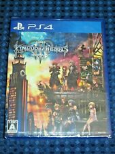 NEW PS4 KINGDOM HEARTS III 3 Japanese Version Square Enix Disney JAPAN F/S