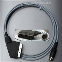 Commodore C64 / C128 Kabel an LCD/LED/Plasma TV SCART (S-Video) 3 Meter