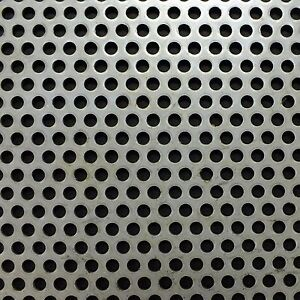 Stainless Steel 304 Perforated 2m x 1m x 1.5mm R3 T5 520115032 BIN117