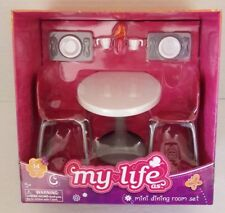 My life Doll 14 Piece Mini Dining Room Set