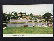Vintage Postcard - Devon #101 - RP Boating Pool, Goodrington