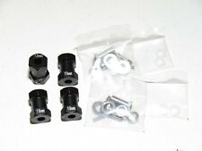 YY-MADMAX Aluminum 19mm Wheel Spacer Widener extension Axial SCX10/AX10 BLACK