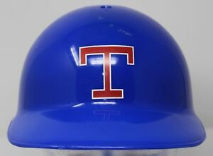 Vintage 1980s Texas Rangers Souvenir Plastic Batting Helmet Nations Bank Hat Cap