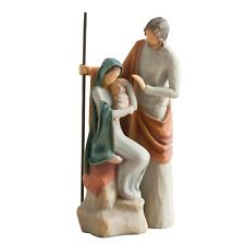 Willow Tree Nativity The Holy Family Nativity Figurine 26290 in Branded Gift Box
