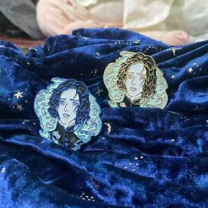 HP Harry Professor Severus Snape Metal Badge Brooch Pin Collection Gift Limited