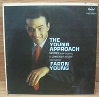 Faron Young (T 1634) The Young Approach - Capitol Records Vinyl Album **READ**