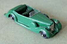 DINKY - 38C LAGONDA SPORTS COUPE (1947-50) GREEN/GREEN UPHOLSTERY