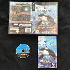 GameCube seaworld Shamu's deep sea Adventures OVP Nintendo GC