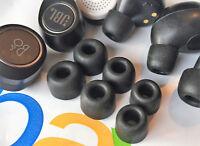 Gel Memory Foam Ear Tips Ear Buds For Truly Wireless Headphones -Many Models