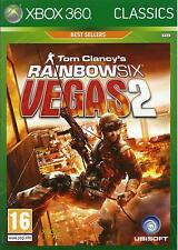 RAINBOW SIX VEGAS 2 for Xbox 360 - with box & manual