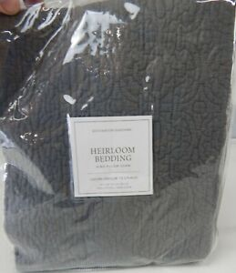 Restoration Hardware Heirloom King Pillow Sham, King