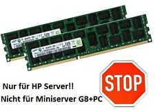 2x 8gb 16gb RAM RDIMM compatibile HP Part # a2z51aa ddr3 ECC RAM 1600 MHZ SAMSUNG
